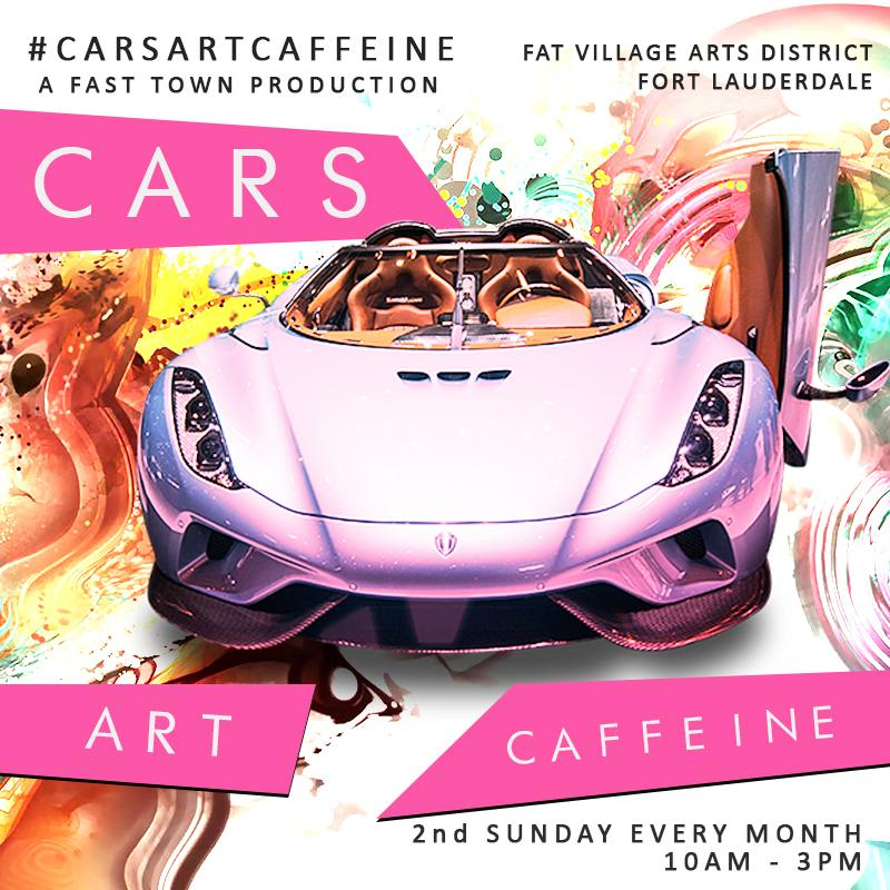 Cars Art and Caffeine